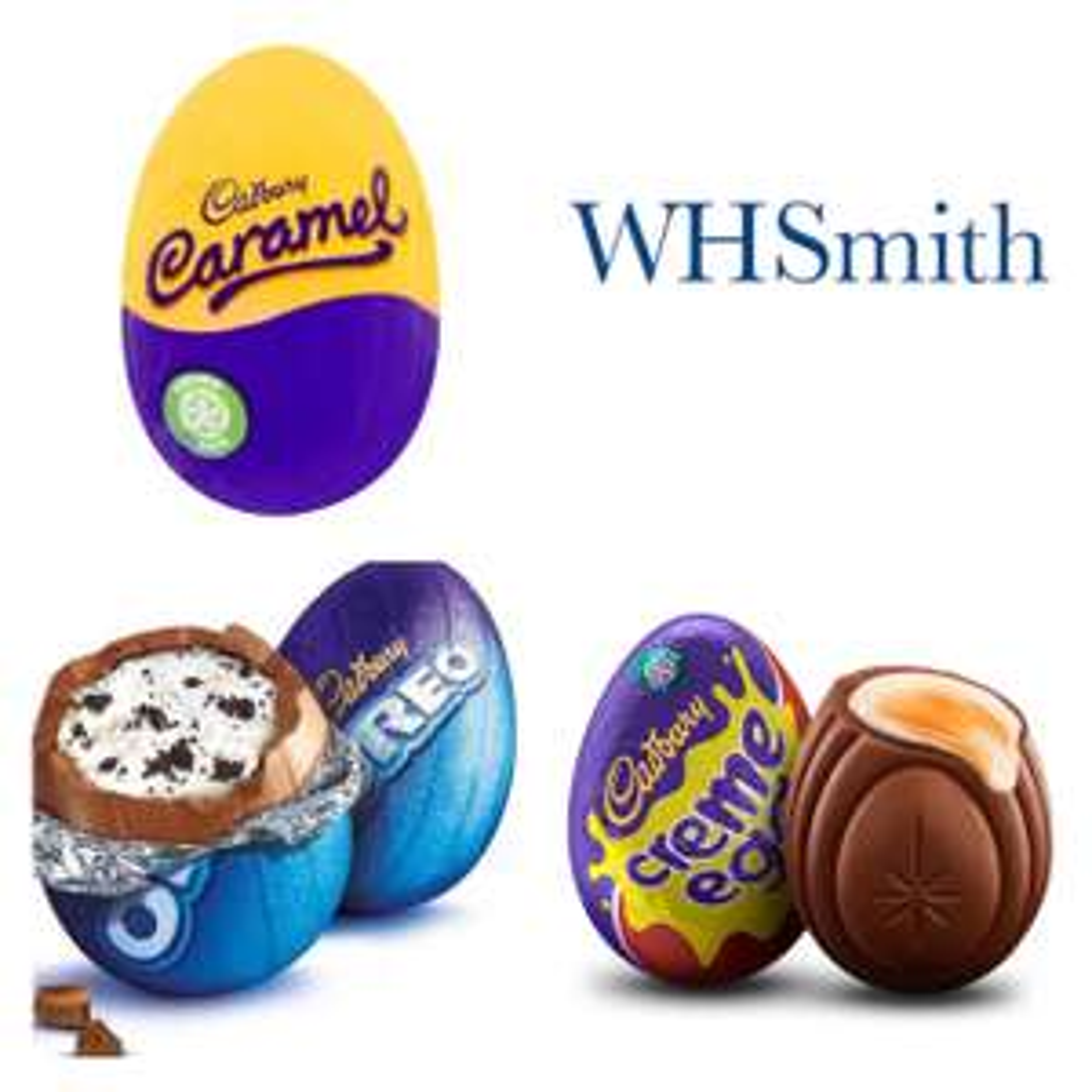 FREE Cadbury Oreo Egg, Caramel Egg, or Creme Egg @ WHSmith via Wuntu