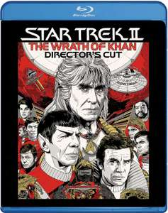 Star Trek 2: The Wrath of Khan Director's Cut Blu-ray £4.78 (Prime) / £7.77 (non Prime) at Amazon
