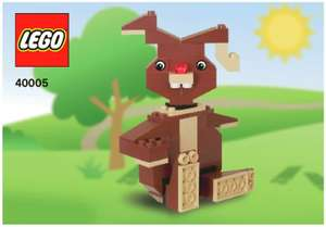 Free Lego Build & Keep Session, Make an Easter Bunny - 2:00pm-4:00pm (Torquay In-Store) The Entertainer