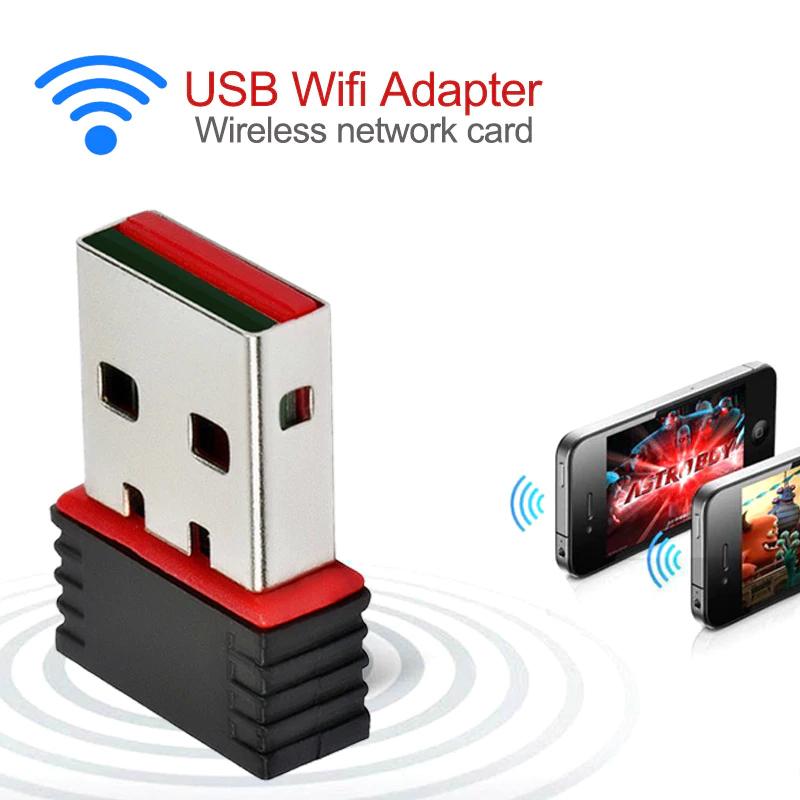 Mini 150Mbps USB 2.0 WiFi Wireless Adapter £1.67 @ Aliexpress / SEVENL Store