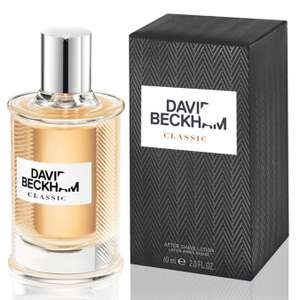 David Beckham Classic Fragrance Aftershave Lotion for Men, 60ml £5 Amazon - Prime Exclusive