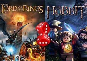"""Random Steam Key: """"LEGO: The Lord of the Rings"""" or """"LEGO: The Hobbit"""" for 1p @ Gamivo"""