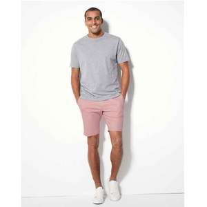 Mens M&S Cotton Rich Chino Shorts with Stretch £15 OR 2 £25 Quality!