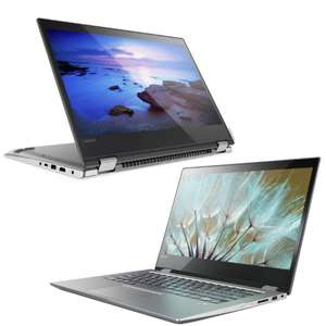 "[Open Box] Lenovo Yoga 520 14"" Convertible Touchscreen Laptop - i5-8250U / 8GB / 128GB SSD £399.99 @ Laptop Outlet"