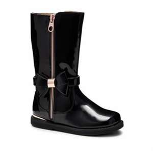 5a9bcd942 Girls black Ted Baker boots reduced to £13.50 free delivery with code at  Debenhams