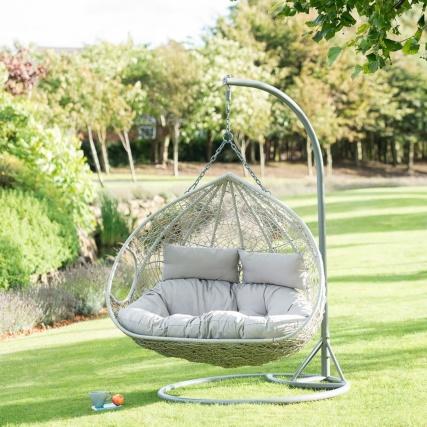 Double garden egg chair swing £200 @ B&M