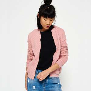 New Womens Superdry Factory Second Beach Micro Jersey Bomber Jacket £9.99 + Free Delivery + Up to 60% Off Factory Seconds @ Superdry / eBay