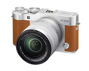 Fujifilm X-A3 XC16-50mm F3.5-5.6 OIS II Kit - at Amazon for £259