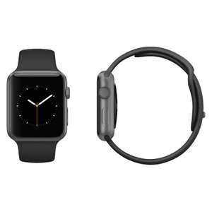 Apple Watch Series 3 42mm Space Grey Aluminium Case with Black Sport Band (GPS) *Refurbished* £199.99 ebay /  musicmagpie