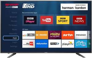 Sharp LC-60UI7652K 60 Inch 4K Ultra HD Smart LED TV with Freeview HD £489 (Free £25 Netflix code included) @ Box.co.uk