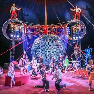 £15 for Russell's International Circus Family of 4 Ticket + Free Souvenir Brochure in Multiple Locations (normally £32) via Littlebird