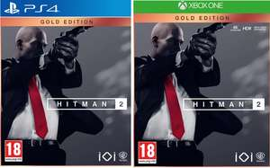 HITMAN 2 GOLD EDITION Xbox one /PS4 for £32.99 Delivered @ Game