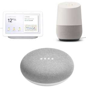 5ed1e9255fc Google Home Mini £26.10    Google Home Smart speaker £62.10    Google