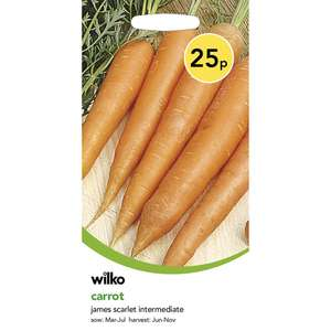 Wilko & Johnsons seeds half price instore & online - from 12p a packet at Wilko (free c&c)