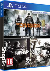 Tom Clancy's The Division + Tom Clancy's Rainbow Six: Victories Double Pack (PS4) for £18.85 @ ShopTo