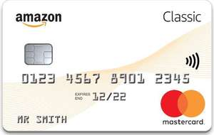 £20 Amazon gift card credited to your account, for new classic Amazon mastercard applications