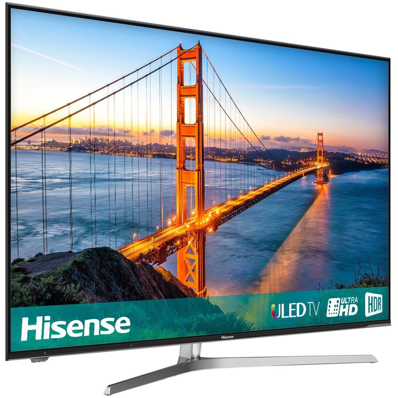 Hisense H50U7AUK U7A 50 Inch 4K Ultra HD Smart LED TV 4 HDMI £404.10 / 55'' £499 w/code @ AO Ebay
