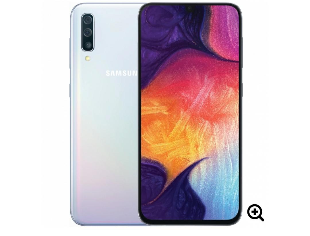 Samsung Galaxy A50 6GB/128GB Dual Sim SIM FREE/ UNLOCKED - White £222.99 @ Eglobal Central