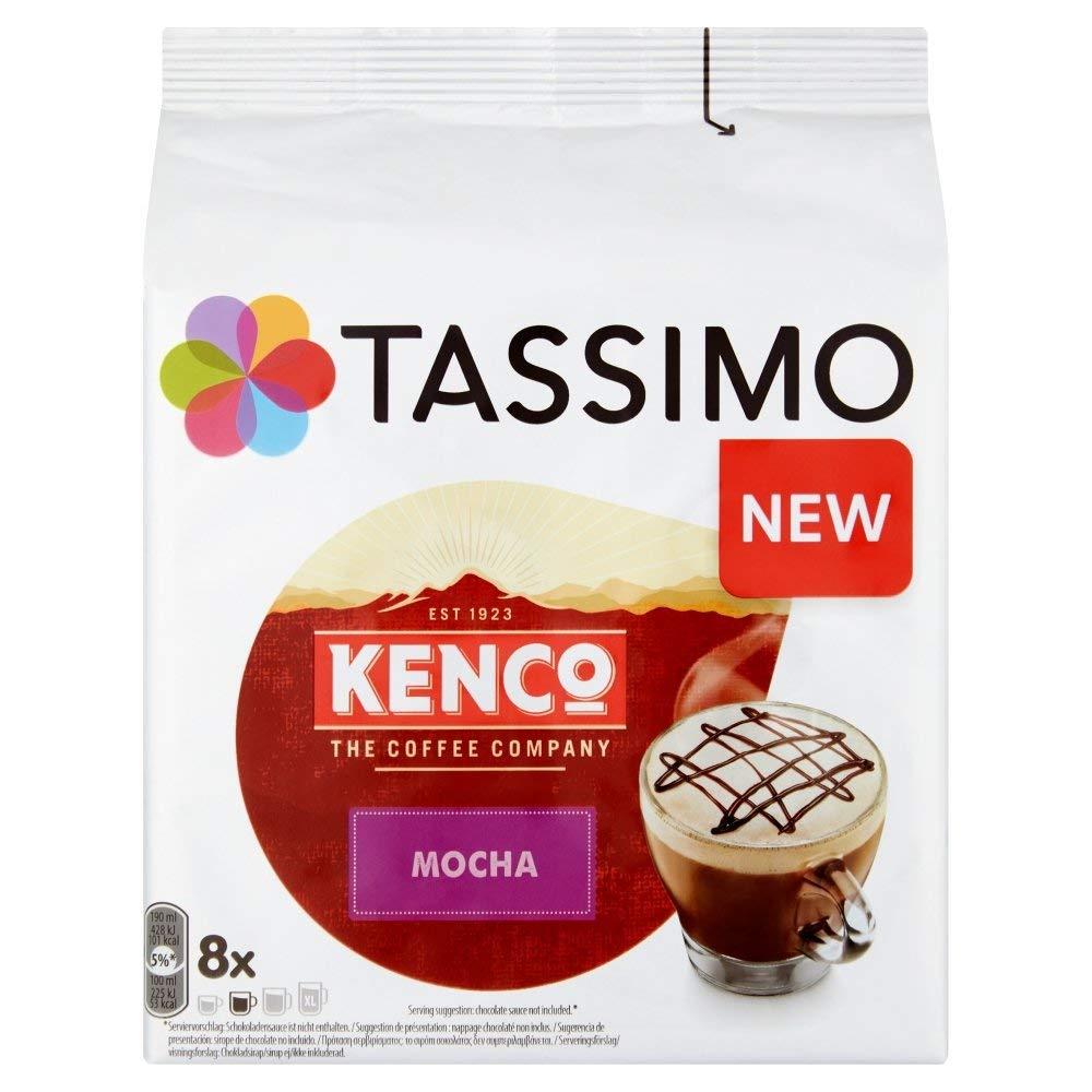 TASSIMO Kenco Mocha Pods 5 Pack £11.32 / £9.91 with S&S 5% / 15% discount - Amazon Prime / + £4.49 non Prime
