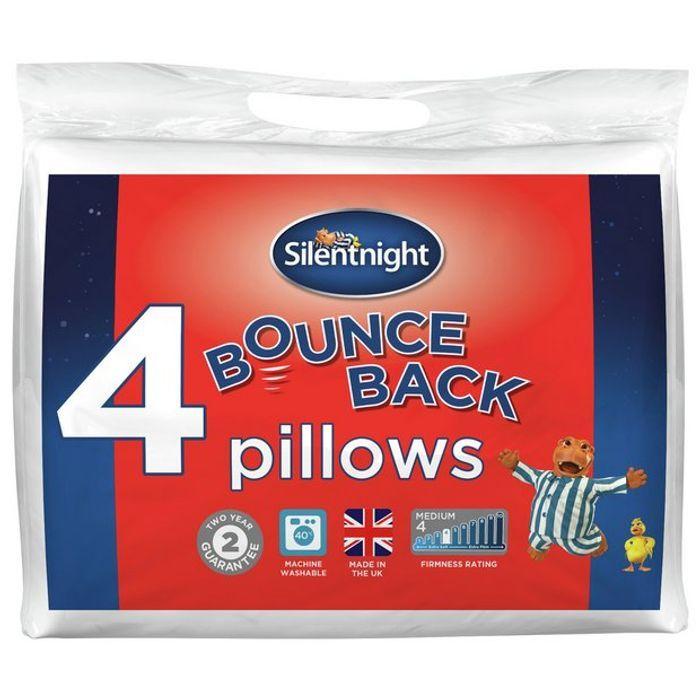 Silentnight Bounceback Pillows - 4 Pack £15.99 Argos