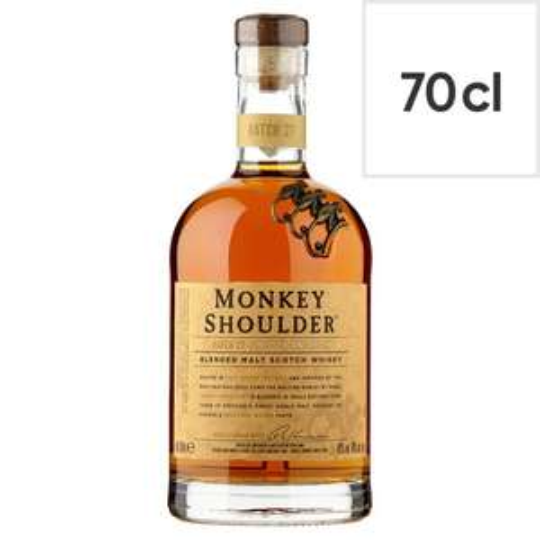 Monkey Shoulder Triple Malt Scotch Whisky 70cl £22.50 Sainsburys