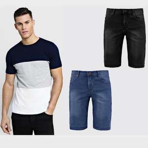 40% off T-Shirts, Vests and Shorts (Includes Swim Shorts too) & Free Delivery with code  @ Boohooman