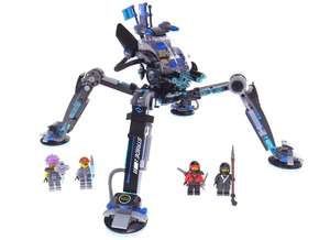 LEGO Ninjago Movie 70611 Water Strider Toy - £19 @ Boots (Free C&C) or £3.50 delivery