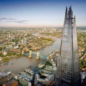 View from the Shard - Saturday May 25th - Exclusive Early Access + Unlimited Hot Drinks / Juice £14.40pp with code via Littlebird -