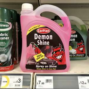 Demon 2L Shine Top Gloss Vehicle Cleaning Wax £7 @ Wilko