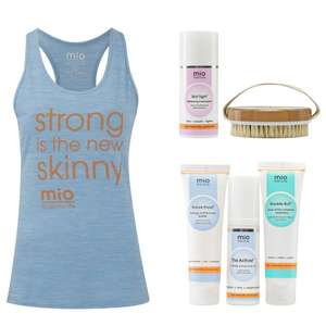 Yoga Performance Slogan Vest £5.95 delivered - 20% Off Skincare & Clothing Sale + Extra 15% Off w/code + Free Delivery @ Mio Skincare