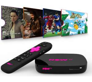 5c652ef3dbe NOW TV Smart Box with 4K   Voice Search - 4 NOW TV Pass Bundle ...
