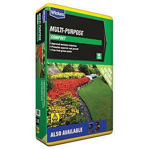 Wickes Multi Purpose Compost 120 Litres £6 til Monday 22nd April