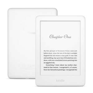 Kindle with backlight.  Prime white or black £69.99 @ Amazon