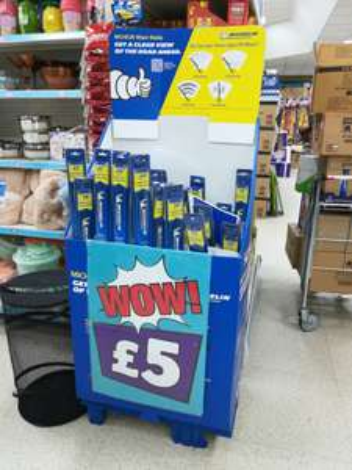 Michelin wiper blades £5 @ Poundland