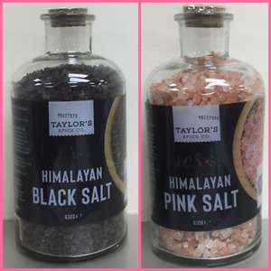 Taylor's Himalayan Pink/Black/White Salt 630grams £1.49 @ Poundstretcher
