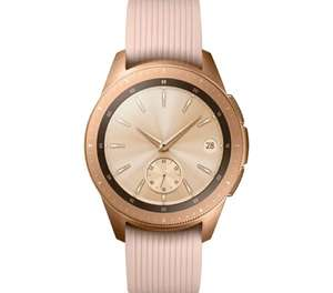 Samsung Galaxy SmartWatch SM-R810 Rose Gold 42 mm Activity Fitness Tracker GPS Watch £161.99 In Very Good Used Condition @ XS Items Ebay