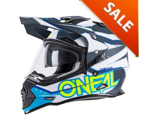 ONeal Sierra II Slingshot Blue Dual Sport Helmet £59.99 @ M&P Direct