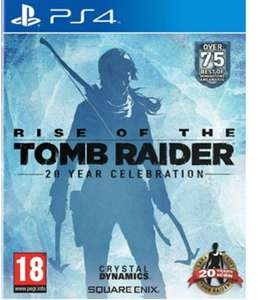 Rise of The Tomb Raider: 20 Year Celebration (PS4) - Standard Edition  For £10.85 Delivered @ Base