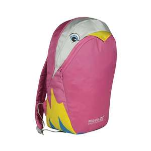 1/2 Price : Regatta Kids Zephyr Animal Day Back Pack - Parrot , Now £7.50 Delivered with code  ( 4 other designs ) @ Debenhams