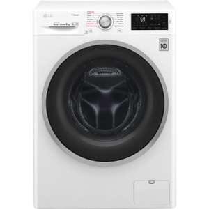 Double discount on large kitchen appliances - 10% auto adds then another 10% with code LG steam washer £298.89 more in op @ eBay / AO