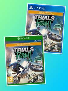 Trials Rising - Gold Edition Xbox One/PS4 £16.95 delivered @ The Game collection