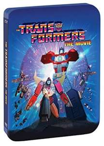 The Transformers: The Movie - Limited Edition, 30th Anniversary Steelbook Blu-Ray (2-Blu-ray set + Digital Copy) £7.59 delivered @ Base