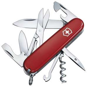 Victorinox Climber Swiss Army Knife RRP £31.99 NOW £17.73 + £4.49 delivery (Non Prime) at Amazon