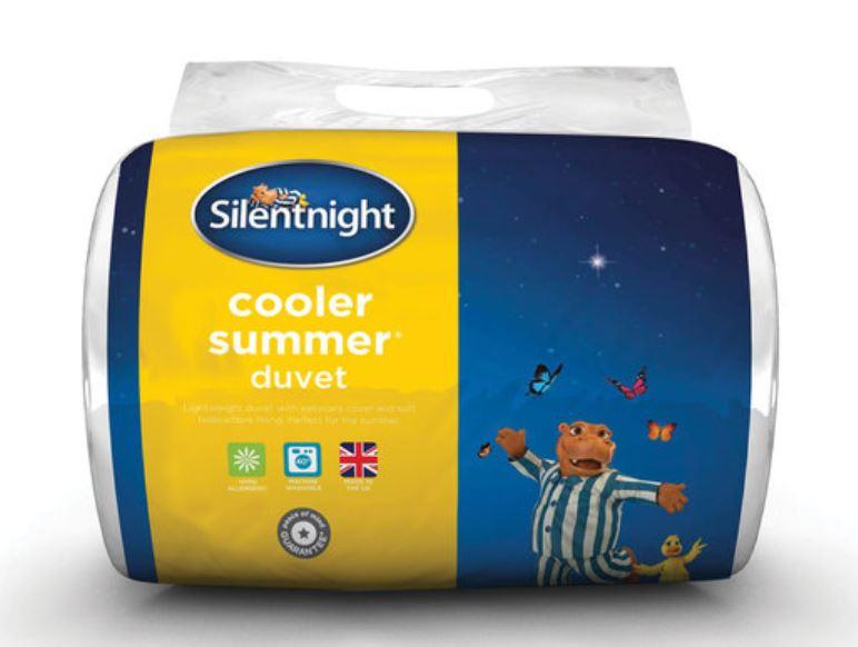 Silentnight Cooler Summer Duvet £9.99 @ Lidl