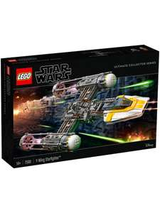 LEGO Star Wars 75181 UCS  Y-Wing Starfighter 15% off at £144.49 @ John Lewis & Partners or Amazon.