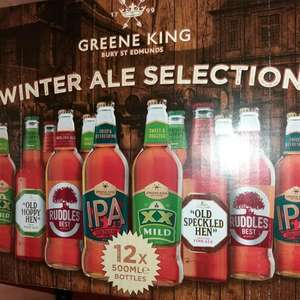 Cheap 12 crate of ales instore at Costco for £5.94