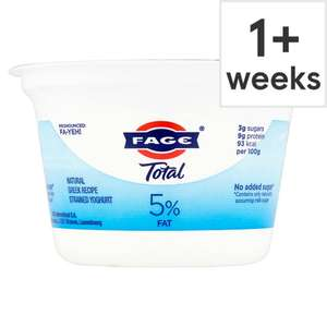 Fage yoghurt for the 50p at Tesco (free after Clicksnap cashback)