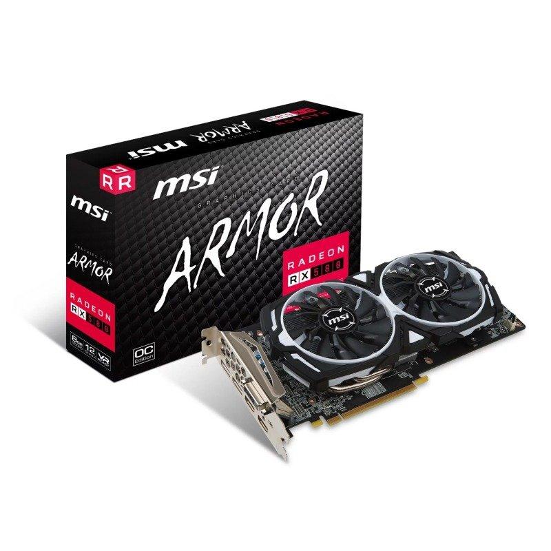 MSI AMD Radeon RX 580 8GB ARMOR 8G OC Graphics Card, £169.98 at Ebuyer