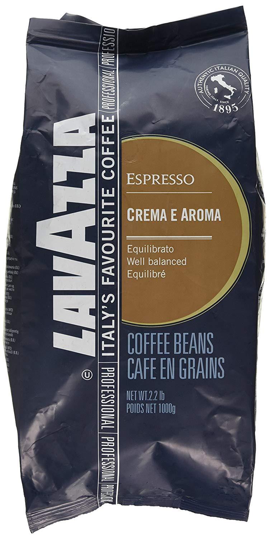 1KG Lavazza Crema e Aroma Coffee Beans £9.99 (+£4.49 non prime) @ Amazon