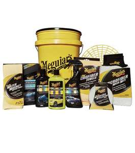 Meguiars 12pc Ultimate Polish & Wax Bucket Kit £65.51 with code @ Euro Car Parts